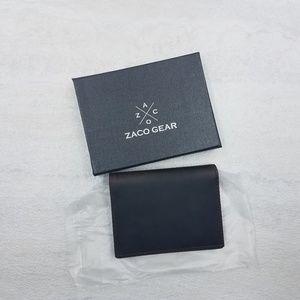 ZACO RFID Blocking Italian Leather Wallet